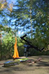 20190922FahrradAusfahrt1a (Photoschiesser) Tags: flamme feuer fahrrad ausfahrt wald pause essen