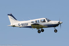G-BOOF - 1978 build Piper PA-28-181 Cherokee Archer II, departing from Runway 08L at Barton (egcc) Tags: 287890084 archer barton blackbusheflyingclub cherokee cityairport egcb gboof lightroom manchester n47510 pa28 pa28181 piper