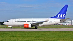 SE-RER (AnDyMHoLdEn) Tags: sas scandinavian 737 staralliance egcc airport manchester manchesterairport 23l