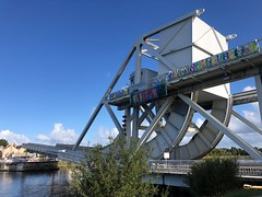 Pegasus Bridge. (Melinda * Young) Tags: park bridge france history monument memorial wwii battle ww2 normandy dday bascule caencanal pegasus