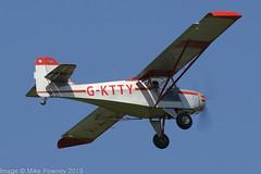 G-KTTY - 1994 build Denney Kitfox Mk.III, departing from Runway 08L at Barton (egcc) Tags: barton cityairport denney egcb gktty glesj james kitfox kitfoxmkiii lightroom manchester microlight pfa17212001 pennington