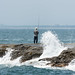 Waves Crashing on Enoshima