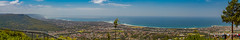 North Wollongong from Mount Keira Lookout (Peter.Stokes) Tags: australia australian colour landscape native nature outdoors photography summer vacations landscapes panorama stiched photo wollongong mountkeiralookout seascape