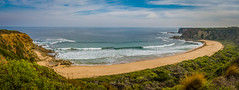 From 'The Oaks' lookout. Cape Paterson-Inverloch Road, Victoria, Australia (Peter.Stokes) Tags: australia australian colour landscape nature outdoors photo photography landscapes summer vacations panorama stiched native theoakslookout capepaterson inverloch victoria