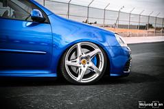 R32 Deep Blue Ferrari Wheels (Mourad Ben Photography) Tags: volkswagen vw golf r32 deep blue pearl ferrari wheels