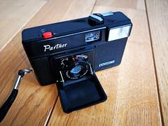 Yashica Partner - 35mm film camera (1) (nefotografas) Tags: yashicapartner 35mmfilmcamera onfilm