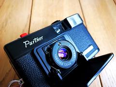Yashica Partner - 35mm film camera (3) (nefotografas) Tags: yashicapartner 35mmfilmcamera onfilm
