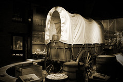The Covered Wagon - St Louis Gateway Museum (big_jeff_leo) Tags: western stlouis usa rustic american america old west history historic
