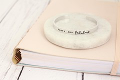 Forty and Fab (TheSilverBirdcage) Tags: forty fabulous cuff bracelet jewellery