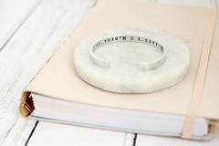 Co ordinates Cuff Bracelet (TheSilverBirdcage) Tags: co ordinate cuff bracelet