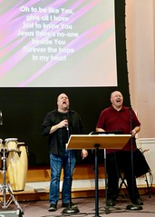 Worship Service with elder Tom Gawlak (9-22-2019) - Musical Worship (nomad7674) Tags: 2019 20190922 september beacon hill evangelical free church monroe ct connecticut monroect sunday worship service praise praiseandworship praiseworship music musicians musician song hymn psalm spiritual sing singer singing