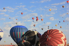 Mid Air (junepreug) Tags: newmexico travel places weather landscapehotairballoons outside