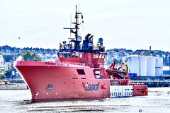 Esvagt Cobra - Aberdeen Harbour Scotland - September 2019 (DanoAberdeen) Tags: amateur aberdeen aberdeenscotland abdn abz aberdeenharbour aberdeencity offshore oilships outdoors shipspotting ship shipping danoaberdeen 2019 candid seafarers northsea northeast northseasupplyships summer supplyships water torry marineoperationscentre pocraquay pocrabase aberdeenshire tanker psv oilrigs quay winter watercraft workboats ecosse escocia escotia recent scotland transport tugboat unitedkingdom iskoçya offshoreships port szkocja clouds cargoships vessels boats maritime merchantships merchantnavy esvagtcobra esvagt errv standbysafetyvessel