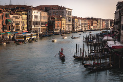 Afternoon on the Grand Canal (austinfloyd) Tags: venice italy water boat canal italian italia grand gondola venezia city bridge summer urban europe view rialto