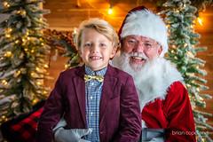 Younger Handsome Santa Claus Saint Nick St. Nicholas (blcope) Tags: santa clause claus handsome st saint nick nicholas red suit christmas holiday kids children elf elves