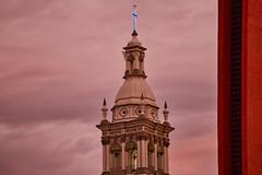 Sobre Nosotros Una Pequeña Lluvia Caerá { Monterrey, NL } (Charlie Gza) Tags: sky church catedral monterrey méxico canon canon6d urbanexploration city cityscape clouds fernand beforethestorm eos 6d 70200mm photography travel travelphotography sunset sunsetphotography nuevoleón