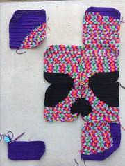 IMG_1782 (crochetbug13) Tags: crochet crocheting crocheted crochetyarnbomb crochetmural