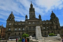 Glasgow City Chambers, Glasgow, UK (Robby Virus) Tags: glasgow scotland uk unitedkingdom britain greatbritain gb city chambers building architecture william young architect municipal victorian george square