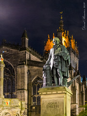 Photo of Adam Smith monument (Edinburgh)