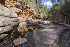 Small Pool, Alligator Gorge (oz_lightning) Tags: australia canon6d canonef1635mmf4lis mountremarkablenp sa southernflindersranges geology hdr landscape nature reflections water mountremarkablenationalpark southaustralia