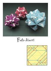 "Origami, Sonobe variations, ""もうひとひねり…"" (Masaya2012) Tags: sonobe kusudama modular modularorigami sonobevariation stellatedicosahedron smalltriambicicosahedron くす玉 薗部 ユニット 折り紙 アレンジ"