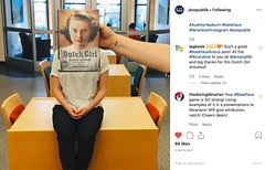 NSTA-Bookface-Dutch-jesspublib (The Daring Librarian) Tags: instagram instagramapp example book promo bookface reading promotion