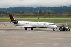 C-GJZV Bombardier CRJ-900LR Air Canada Express / Jazz (SamCom) Tags: cgjzv bombardier crj900lr aircanadaexpress jazz crj9