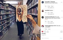 INSTA-Bookface-Hands-jesspublib (The Daring Librarian) Tags: instagram instagramapp example book promo bookface reading promotion