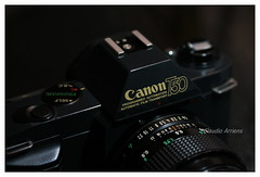 Canon T50 (Claudio Arriens) Tags: fd canon canont50 t50 slr classiccamera vintage 35mm film camera collection