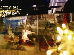 Hernando León - Spiegelung Ausschnitt - Aus Pirna Tagebuch, Die große Elbeflut in Glas Tischplatte. (schubertj73) Tags: hernando león parktheater iserlohn ausstellung exhibition begegnung fotografie foto fotos photo photography photos photoart photographien spiegelung spiegelungen reflection art artwork artworks artphoto artphotography artist kunst kunstwerk kunstfotografie künstler schubertj73 fujifilm x10