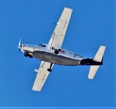 91219-11, N976FE '88 Cessna 208B Caravan (FED-EX) (skw9413) Tags: albuquerquesunport kabq kodakpixproaz652 n976fe cessna208b cessnacaravan fedex aircraftinflight