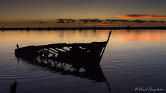 002 Sunrise behind TSS Kennedy (Awesome Image Maker NZ) Tags: 2019 artistic kennedy landscape location wairaurivermouth shipwreck sunrise