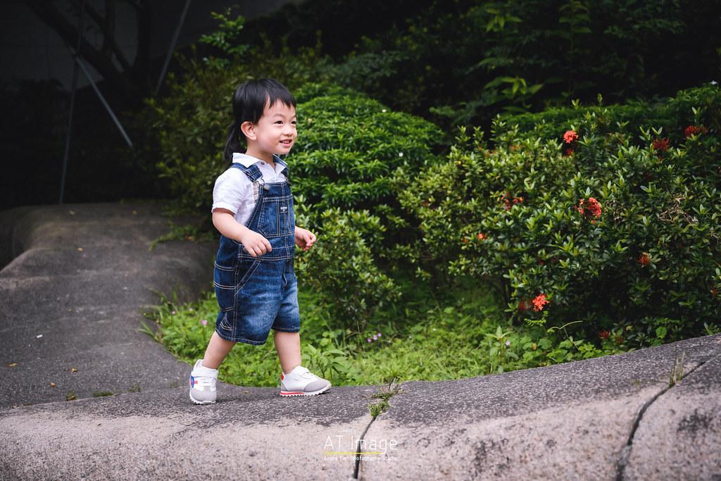 <全家福 親子攝影> 仔仔 生日全家福 / 四號公園