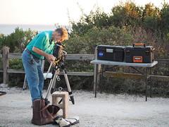 S9195073 SBAU Bacara BruceM setting up Orion Atlas Pro (SBAUstars) Tags: september 19 2019 sbau bacara westmont astronomy telescope santabarbara montecito goleta sunset channel ocean