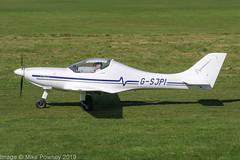 G-SJPI - 2008 build Aerospool WT9 Dynamic, taxiing for departure at Barton (egcc) Tags: aerospool barton cityairport dy2812008 dynamic egcb gsjpi lightroom manchester microlight wt9 wilkinson yeomanlightaircraftcompany