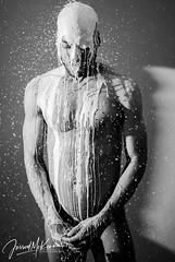 David I (Jarrod McKenna) Tags: blackmale dudoir male model nude creativenude gayphotographer gayphotography