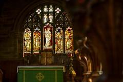 BurneJones (Tony Tooth) Tags: nikon d600 nikkor 50mm f18g church stainedglass window chancel burnejones allsaints youlgreave youlgrave derbyshire