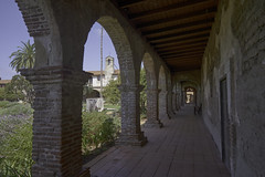Mission San Juan Capistrano (EricMakPhotography) Tags: mission church spanish colonial medieval usa corridor architecture