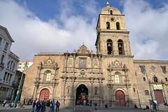 A beautiful baroque facade (Chemose) Tags: sony ilce7m2 alpha7ii mai may bolivie bolivia lapaz église church sanfranscisco baroque façade facade franciscain franciscan portail portal basilica basilique