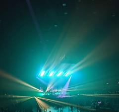 Laser light show. (thnewblack) Tags: huaweip30pro leicaoptics lowlight smartphone concert pacificcoliseum vancouver britishcolumbia ghost vsco