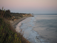 S9195090 SBAU Bacara bluff to beach (SBAUstars) Tags: september 19 2019 sbau bacara westmont astronomy telescope santabarbara montecito goleta sunset channel ocean