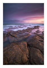 Cow Gap / September 22nd (Edd Allen) Tags: eastbourne rocks shore sea seaside seascape landscape nikond810 nikon d810 zeissdistagon18mm 18mm zeiss distagon england eastsussex uk britain sussex beachyhead sunset summer atmosphere atmospheric cowgap