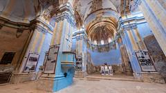 Moyuela - Ermita de San Clemente Int.360º (click on the link for the 360º view) (Juan Ig. Llana) Tags: interior zaragoza sanclemente ermita barroco moyuela 360 panorámica gigapan epicpro explore religión arquitectura