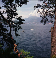 Rolleis Lake Como Experience 2019 (707) (Hans Kerensky) Tags: rolleiflex 35c 6x6 tlr fujifilm pro 160ns scanner plustek opticfilm 120 lake como italy 2019 lenno villa del balbianello view