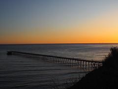 S9195072 SBAU Bacara early sunset Venoco pier (SBAUstars) Tags: september 19 2019 sbau bacara westmont astronomy telescope santabarbara montecito goleta sunset channel ocean