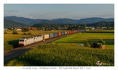 Br 186 908 - Kollmarsreute (CC72080) Tags: br186 crossrail txl tx logistik traxx locomotive lokomotive locomotiva lokomotiva güterzug zug train treno vlak merci marchandise combi unit45 kollmarsreute