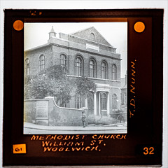 Methodist Church, William St, Woolwich - undated (Paul Parkinson LRPS CPAGB (parkylondon)) Tags: 2019 aperturewoolwich glassplates may wps woolwichps