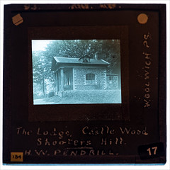 The Lodge, Castle Wood, Shooters Hill - undated (Paul Parkinson LRPS CPAGB (parkylondon)) Tags: 2019 aperturewoolwich glassplates may wps woolwichps