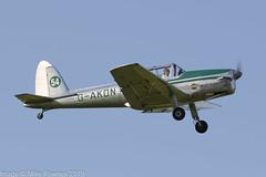 G-AKDN - 1946 build de Havilland Canada DHC-1A Chipmunk, departing from Runway 08L at Barton (egcc) Tags: 11 barton chipmunk cityairport dhc1 dehavilland egcb gakdn gipsymajor large lightroom manchester morley dehavillandcanada
