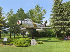 "Canadair Sabre Mk.V 00001 • <a style=""font-size:0.8em;"" href=""http://www.flickr.com/photos/81723459@N04/48780421667/"" target=""_blank"">View on Flickr</a>"